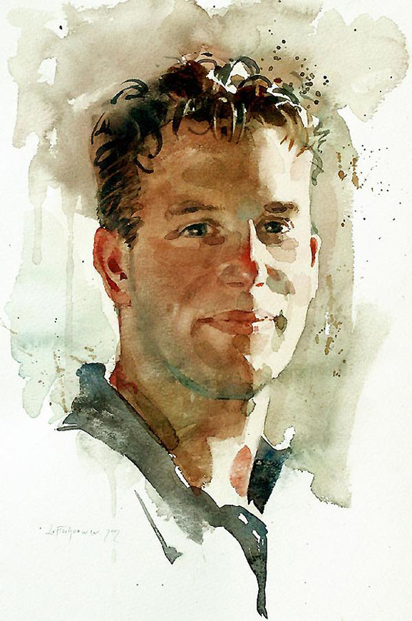 Watercolor Painting Portrait Techniques - Defendbigbird.com
